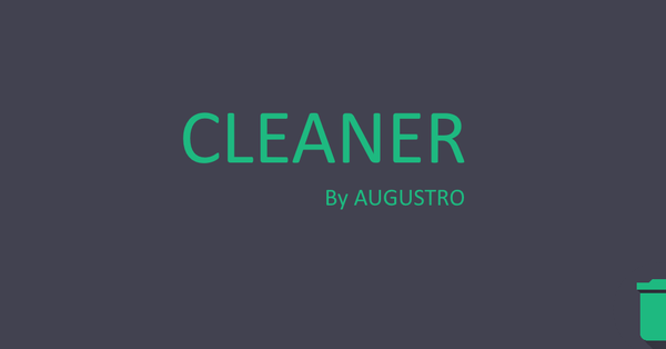تحميل تطبيق Cleaner by Augustro المدفوع مجانا للاندرويد